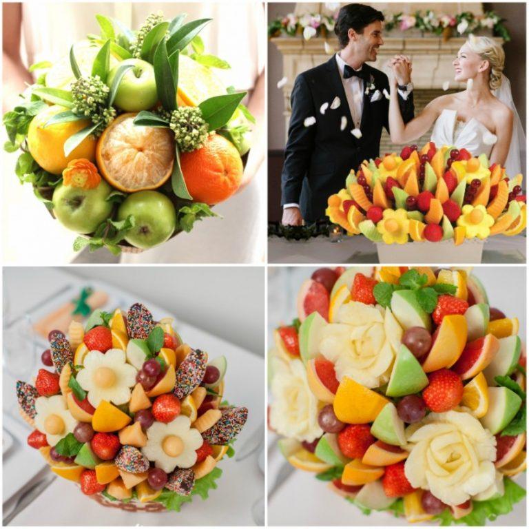 фруктовые букеты своими руками фото пошагово бузова