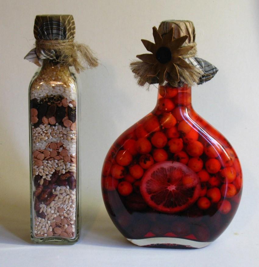Дизайн бутылок своими руками фото подтекст