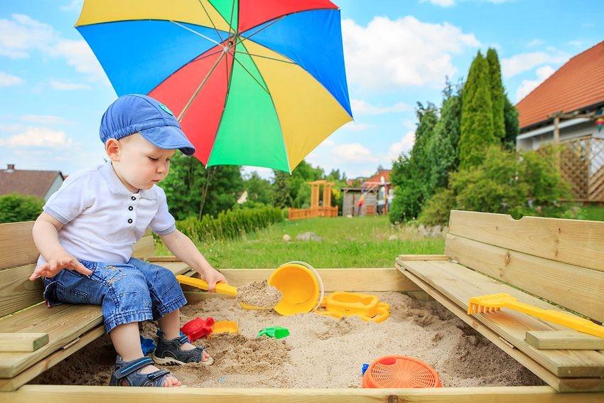 Конструкции для детской площадки своими руками