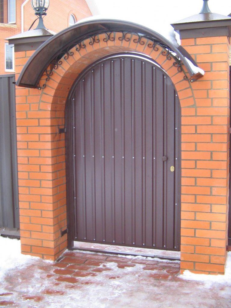 олицетворяет арки для ворот частных домов фото дорогу