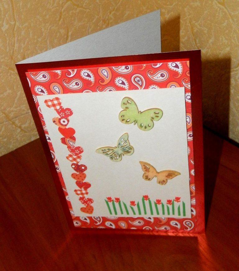 открытки своими руками привет из