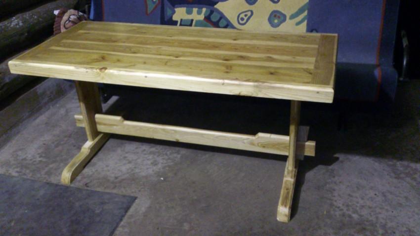 Стол из из дерева своими руками 81 фото как сделать деревянный столик из досок и изготовление конструкции из массива