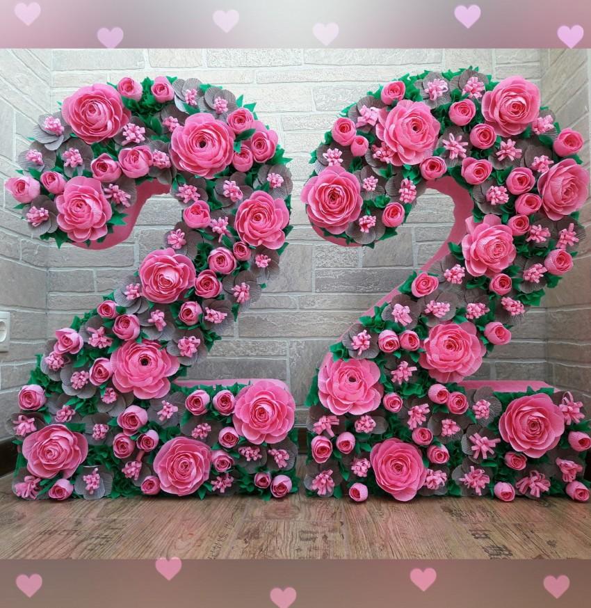 TSifryi-svoimi-rukami-27 Цифры на день рождения своими руками