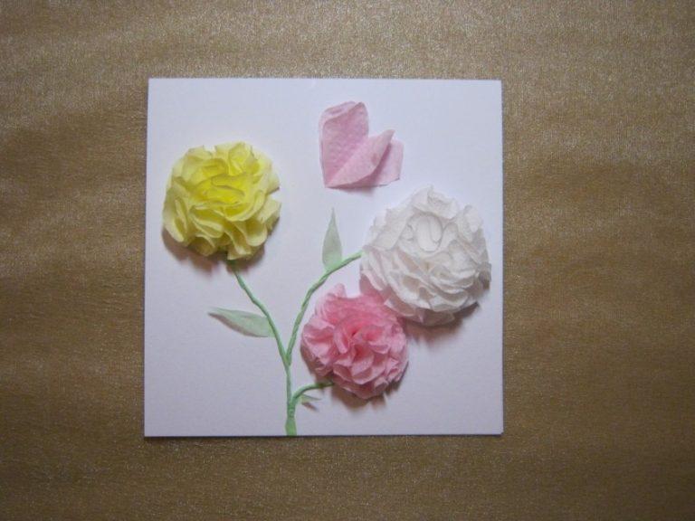 Как сделать открытку из салфеток видео, дню влюбленных