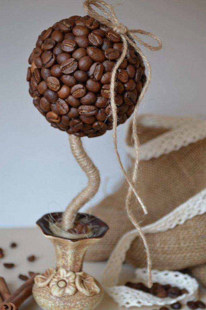 кофейное дерево своими руками мастер класс пошагово фото пыль