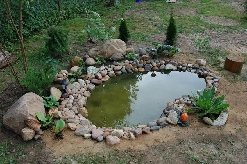 Строим пруд своими руками